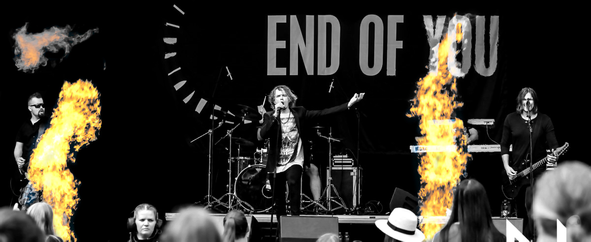 End Of You - Live show photo from John Smith Rock Festival