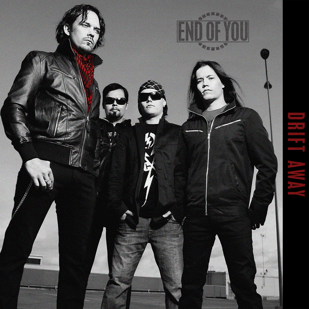 End of You - Drift Away - Single cover